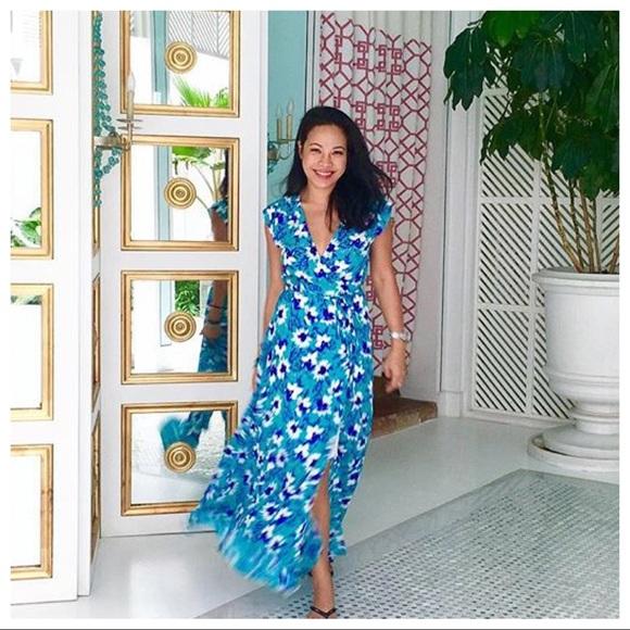 Yumi Kim Dresses Silk Swept Away Maxi Dress Xs 2 Last 1 Poshmark